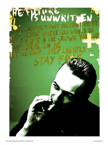 Joe Strummer van The Clash Pop Art Print Poster van Pruik (otw055)
