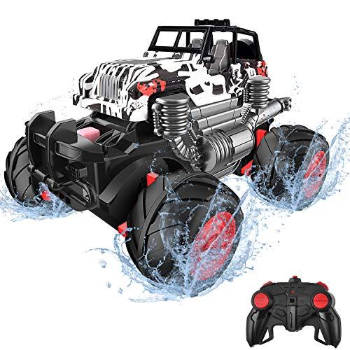 balnore Ferngesteuertes Auto RC Monstertruck 4WD Auto Buggy 2.4 GHz Elektro Alles Gelände Funkfernsteuerung Geländewagen Spielzeug für Kinder Erwachsene