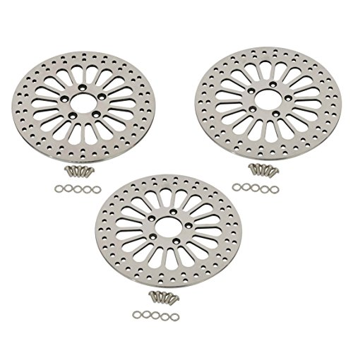 Russell Front Satin Stainless Steel Disc Brake Rotor R47004