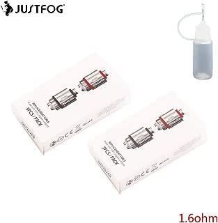 JUSTFOG ジャストフォグ JustFog 14 16 シリーズ 専用コイル Q14 Q16 10個セット 電子タバコ コイル 1.6ohm リキッドボトル 10ml付属 (1.6Ω) (10個セット)