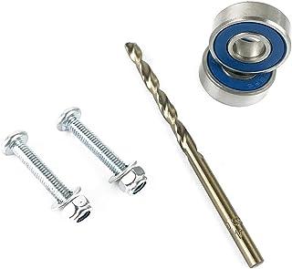 Flushzing 5PCS / Set Parabrisas Brazo del limpiaparabrisas reparación de rodamientos Kit de reemplazo Arreglo para