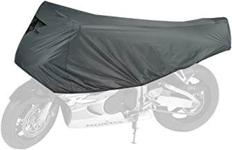 Dowco Guardian 26015-00 Travel Ready Water Resistant Premium Motorcycle Half Cover: Grey, Sportbike