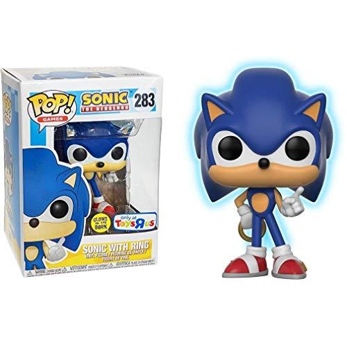 "Sonic The Hedgehog Funko POP 3.75"" Vinyl Figure: Sonic with Ring"