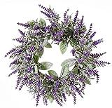 artplants.de Künstlicher Lavendelkranz LODOS
