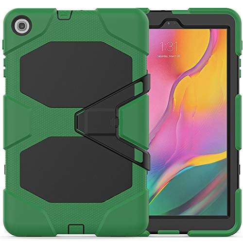 Strnry Case for Samsung Galaxy Tab A 8.0 Case 2019 SM-T290/T295, Hybrid Shockproof Rugged Drop Protection Cover Built with Kickstand, for Galaxy Tab A 8.0 2019,Army Green