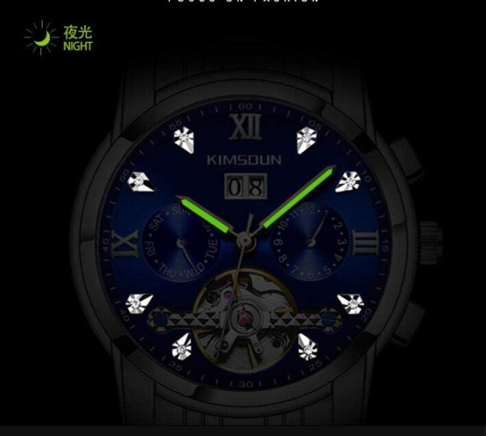 Mannen Horloges, Automatische Mechanische Top Merk Zakelijke Horloge RVS Mannen Datum Lichtgevende Waterdichte Horloges Item 1