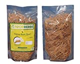 Foodherbs Vetiver Roots/Khus-Khus/Vetiveria Zizanioides (50 GMS) (Top Quality Roots) Natural coolant 100% Herbal