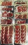 JAMON IBERICO CEBO CAMPO LONCHEADO | 10 paquetes X 100 gramos | PATA NEGRA jamón ibérico paleta
