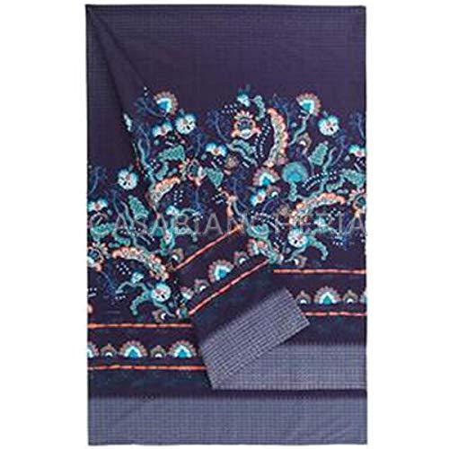 Granfoulard bassetti civita b1 manta en tonos de azul - 350x270