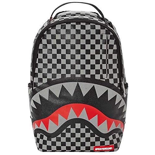 SPRAYGROUND (スプレーグラウンド) バックパック 3M Sharks In Paris Backpack (ブラック/グレー)
