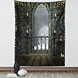 40 INCHES WIDE x 60 INCHES LONG - Made of lightweight fabric with hand-sewn finished edges MACHINE WASHABLE - Cold delicate cycle, Hang to dry. Durable enough for both indoor and outdoor use. MADE FROM - High quality 100% polyester silky satin blend,...