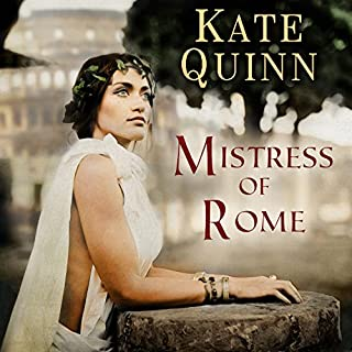 Mistress of Rome audiobook cover art