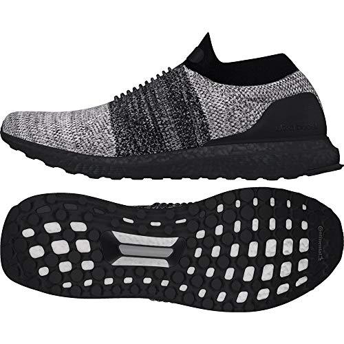Adidas Ultraboost Laceless, Zapatillas de Deporte Hombre, Negro (Negbas/Negbas/Ftwbla 000), 50 2/3 EU ⭐