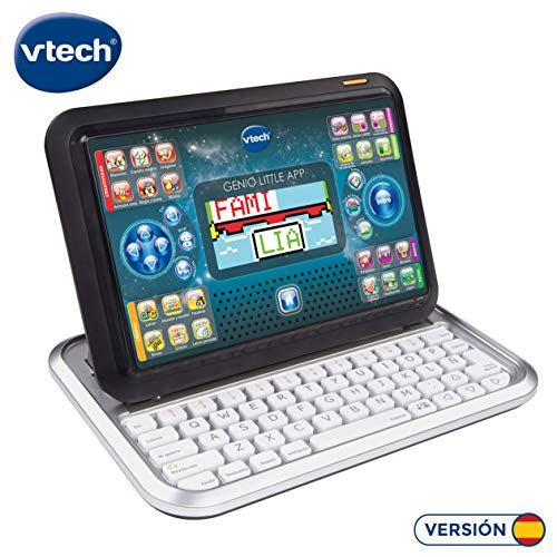 VTech – Genius Little App, Tablet Educational for Children, Pink (3480 – 155557) multicoloured