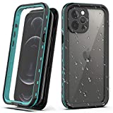 YOGRE Waterproof Case for iPhone 12 Pro Max,Full Body Protection with Screen Protector,Shockproof Dropproof Dustproof Snowproof Cover Case for iPhone 12 Pro Max 5G 6.7 inch