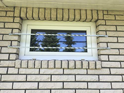 Fenstergitter Typ Pisa Einbruchschutz Fenstersicherung Fensterstange