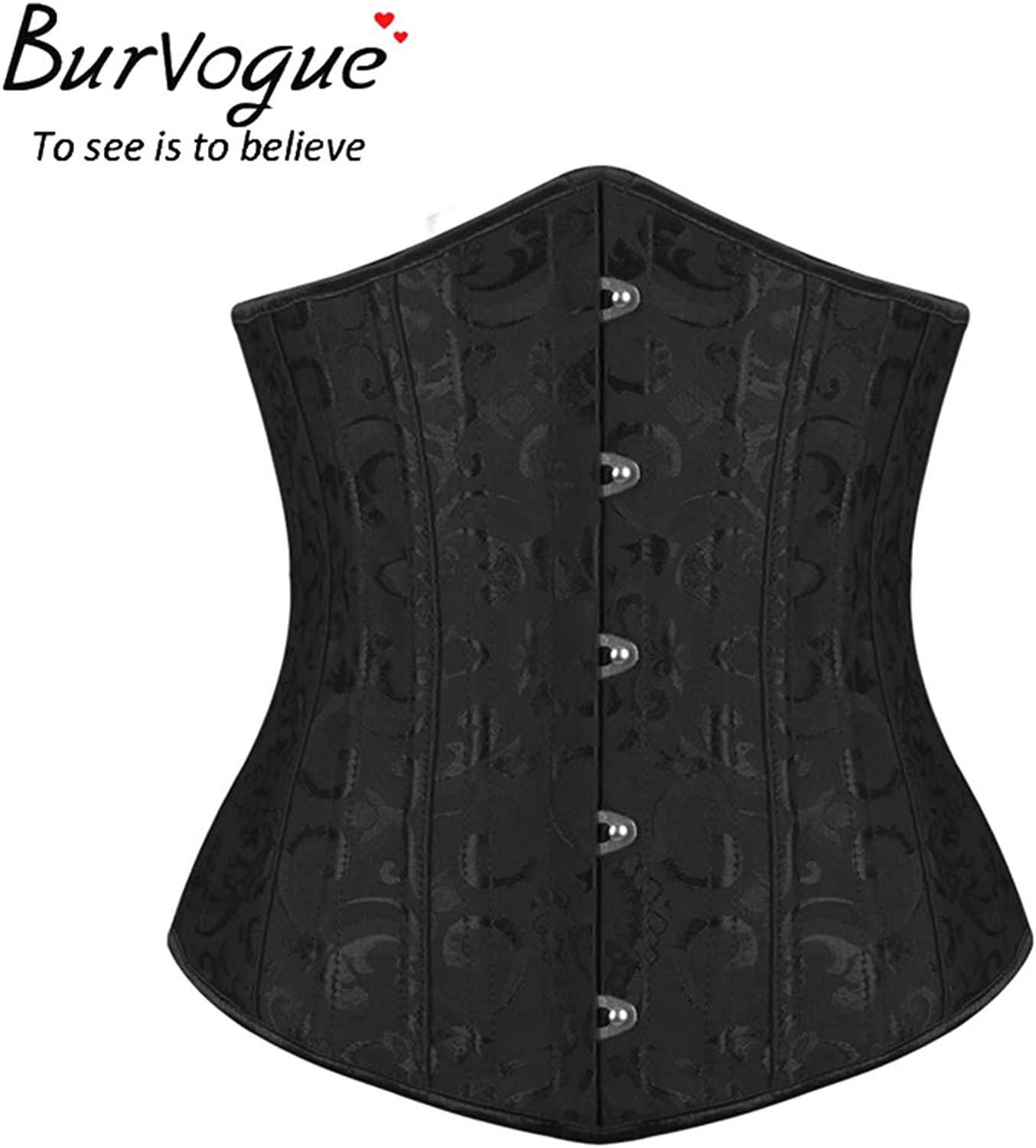 Yaning Corset Slimming Bustier Waist Control Corselets Lace Up Waist Trainer