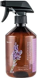 SpaRoom Premium Aromatherapy Mist - Pillow & Sleep Spray - Royal Lavender Essential Oil Air Freshener, 16.9 Oz
