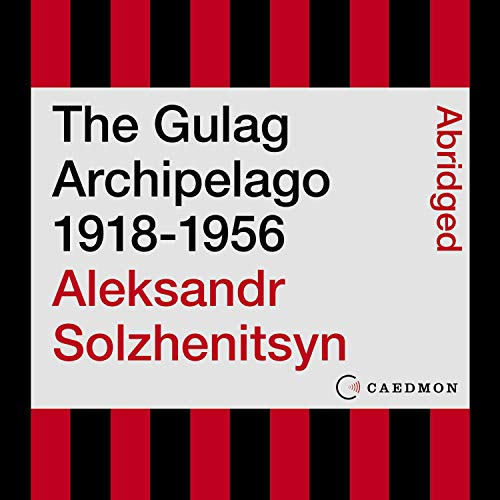 Page de couverture de The Gulag Archipelago 1918-1956
