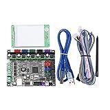 KANJJ-YU Partie Carte Module JZ-TS28 2,8 Pouces LCD Couleur Pleine Écran Tactile écran + MKS-GEN L Contrôleur intégré Mainboard V1.0 for la 3D Moniteur d'imprimante 3D