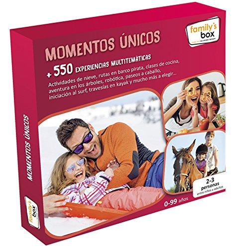 COFRE DE EXPERIENCIAS MOMENTOS ÚNICOS - Más de 550 experiencias multitemáticas en toda España