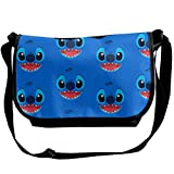 JONINOT Big Eyes Cute St-it-ch Sacs à bandoulière Crossbody Business Slim Commute Travel Out-Going Cosmetics Sling Bag