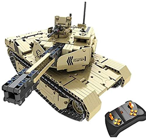 WXH SLL- 50M Entfernung Model, 1276 PCS Bausteine Fahrzeug RC Spielzeug Modellbau, RC Modell echte Simulation Real Effect, for Kinder Geschenke