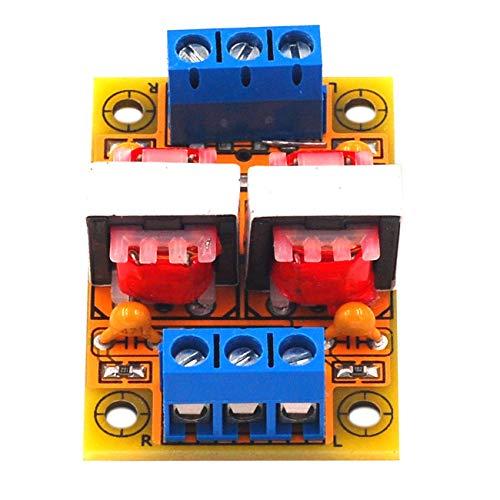 Aislador de audio estéreo común Filtro de ruido de señal antiinterferente computadora Cancelador de sonido de flujo de audio