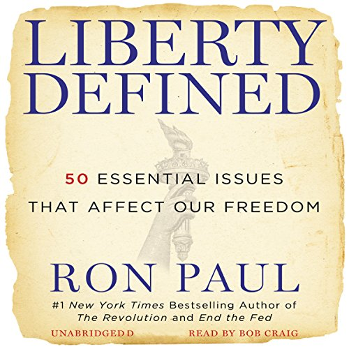 Liberty Defined audiobook cover art