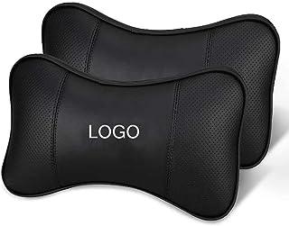 ZHZLNNYY 2pcs Car seat headrest Neck Pillow Lumbar Pillow Lumbar Pillow Quilt,Fit for Tesla Model 3 Model S Model Y Model ...