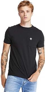 Timberland Men's Dunstan River Pocket T-Shirt, Color: Black, Size: L