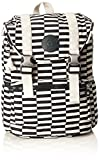 Kipling Experience S, Mochila para Mujer, Varios Colores (Striped Print), 26x32x16 cm
