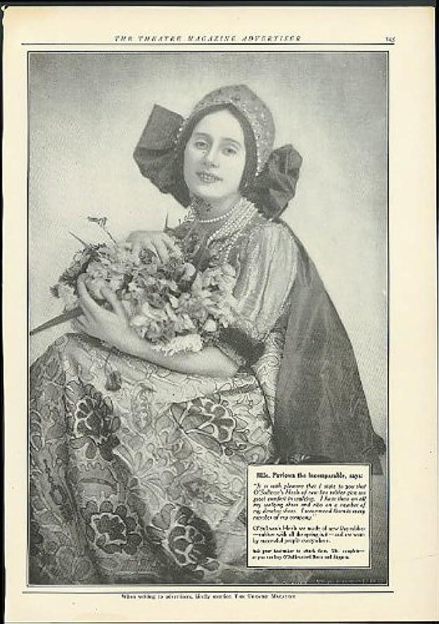 Mlle Pavlowa for O'Sullivan's Heels ad 1915 Pavlova