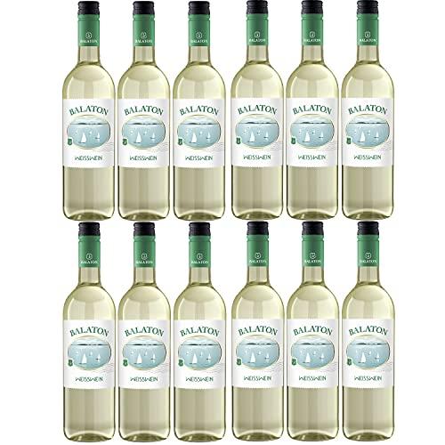 Balaton Weisswein Wein lieblich Ungarn (12 Flaschen)