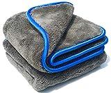 Carxcellent Saugstarke Mikrofasertücher für die Autopflege und schonende Lackpflege 2 STK. Microfasertuch mit 1200gsm und 40x40cm Saugtuch Auto Poliertuch Abledertuch