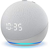 All-new Echo Dot Smart Speaker with Clock and Alexa (4th Gen)