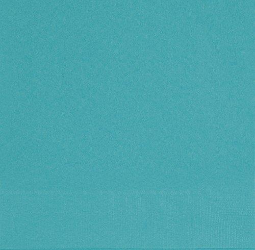 Unique Party Supplies Papierservietten, 16,5 cm, blaugrün, 50 Stück