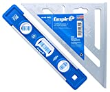 Empire EM81.9 True Blue 9-Inch Heavy Duty Magnetic Aluminum Torpedo Level and 2990 Magnum Fat Boy 7-Inch Aluminum Rafter Square Combo Kit