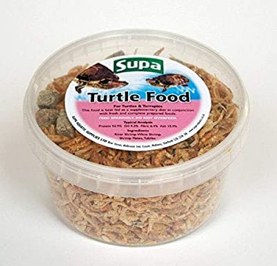 Supa Turtle & Terrapins Food Superior Mix 500ml Tub | Made Using Premium Quality Natural Ingredients from Supa