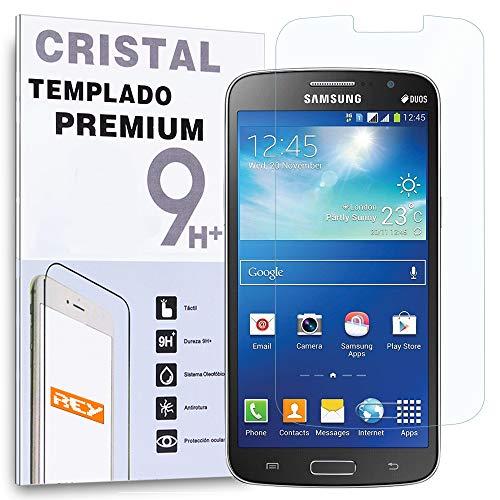 REY Protector de Pantalla para Samsung Galaxy Grand 2 G7102 Cristal Vidrio...