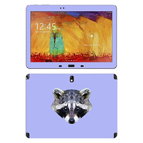 'Disagu SF 105236_ 905Designer Skin for Samsung SM-P601Galaxy Note 10.12014Edition 3G–Raccoon Violet Clear