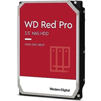"""Western Digital 2TB WD Red Pro NAS Internal Hard Drive - 7200 RPM Class, SATA 6 Gb/s, CMR, 64 MB Cache, 3.5"""" - WD2002FFSX"""