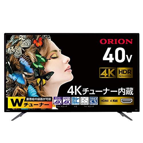 ORION(オリオン)『BS4K・110 度CS4K チューナー内蔵液晶テレビ(OL40XD100)』