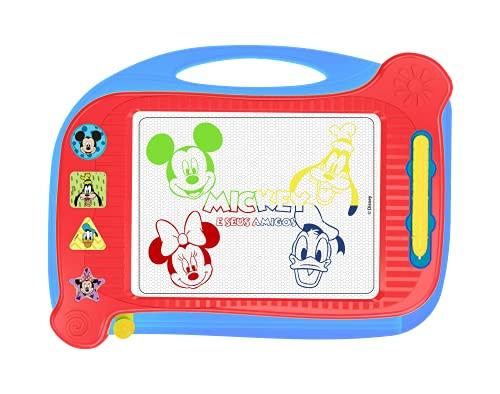 Lousa Mágica Disney Baby Mickey & Amigos, Multicolorido, Pura Diversão