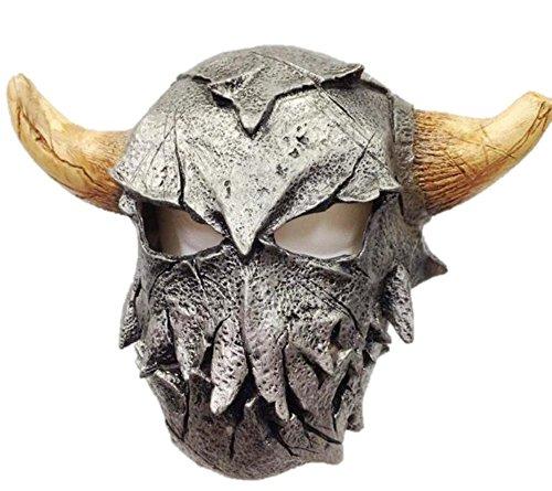 Generique - Wikinger Krieger Maske mit Hörnern