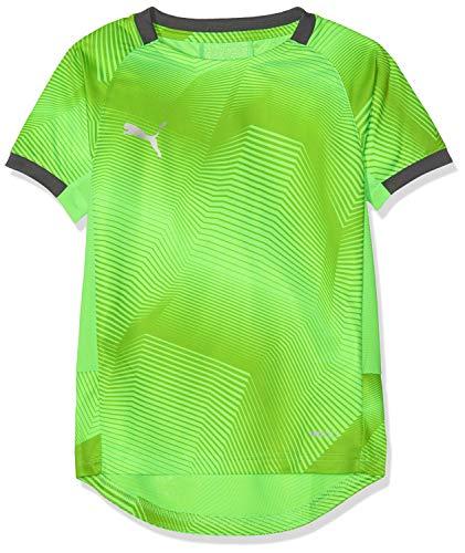 PUMA - Fußball-Bekleidung für Mädchen in Green Gecko-ebony, Größe 164