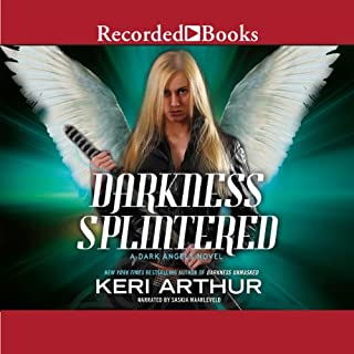Darkness Splintered audiobook cover art