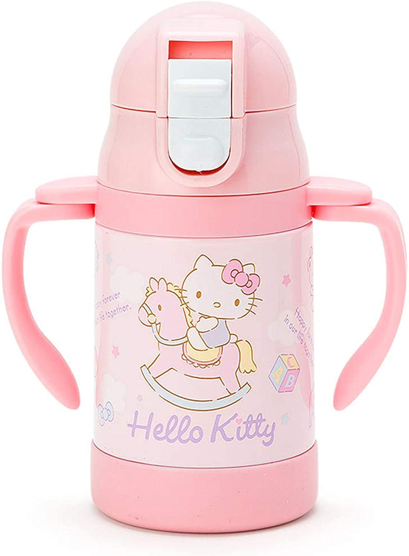 Hello Kitty stainless straw mug