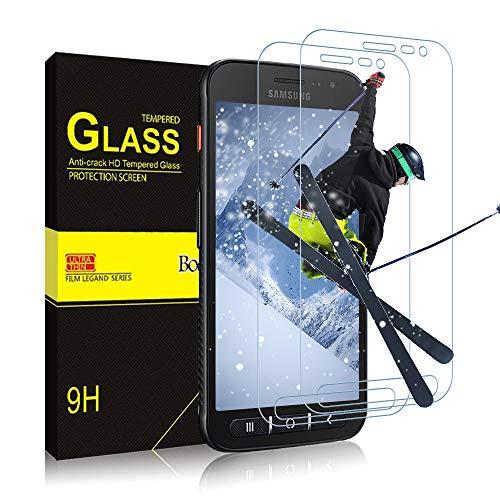 Bodyguard Panzerglas Schutzfolie für Samsung Galaxy Xcover 4S / 4, Panzerglas 9H Hartglas HD Displayschutzfolie Anti-Kratzen Panzerglasfolie Handy Glas Folie für Galaxy Xcover 4S / 4