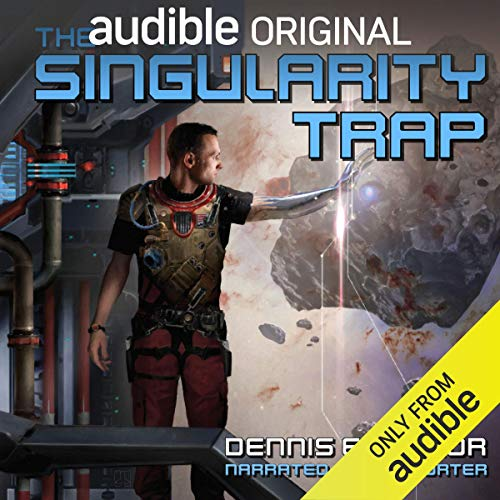 The Singularity Trap audiobook cover art